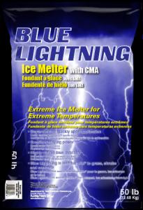 Blue Lightning Ice Melter Distributor Salt Supplier