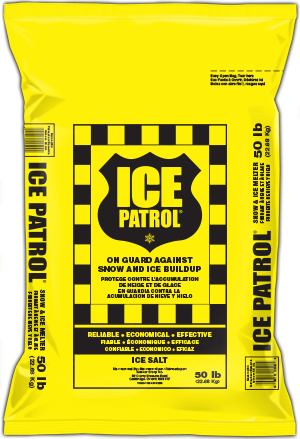 Ice Patrol® - Rock Salt Ice Melt