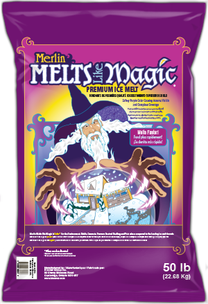 Merlin Melts Like Magic® Ice Melt